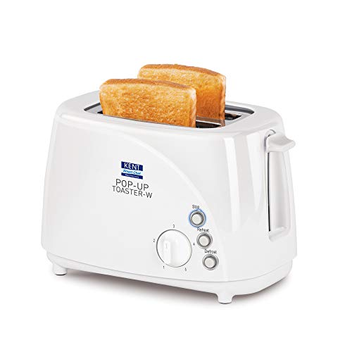 KENT 16031 700W Pop-Up Toaster, White