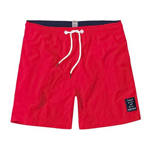 Ceceba Kurze Badeshorts rot Übergröße, XL Größe:4XL