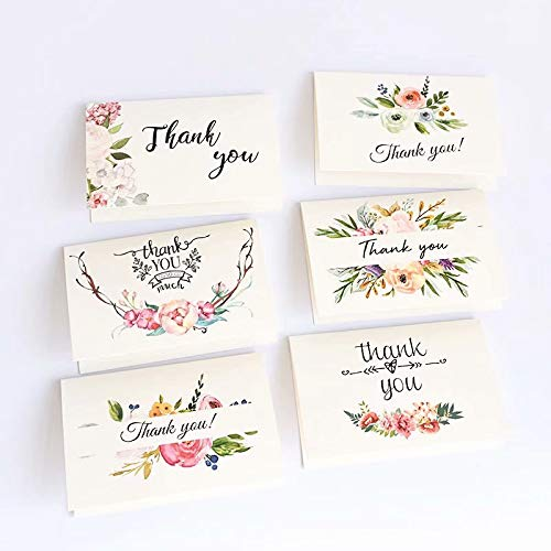 sinHG 3Qメッセージカード 封筒付 グリーティングカード バースデーカード(サンキュー12枚セット・6種類*2)感謝の気持ちを込めて かわいいメッセージを大切な人へbaiA