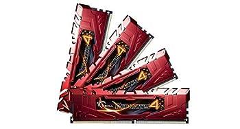 G.SKILL Ripjaws 4 series F4-2666C15Q-16GRR 16GB  4 x 4GB  288-Pin DDR4 SDRAM DDR4 2666  PC4-21300