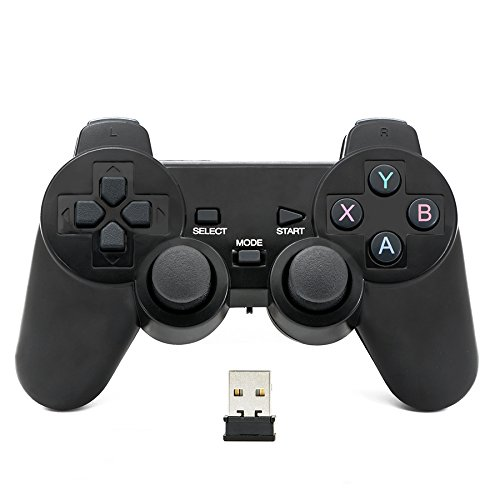 QUMOX Bluetooth Gamepad Joystick Joypad Game Controller für PC