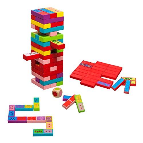 Philos 3289 - Verflixter Turm, 3 in 1, Pairs, Domino