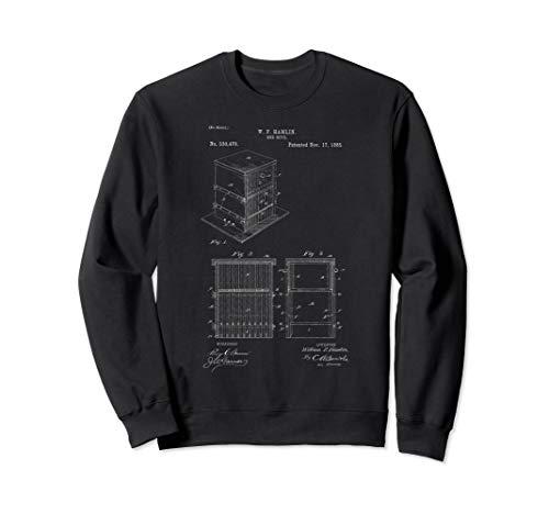 Bienenstock Patent, Imkerei, Imker Sweatshirt