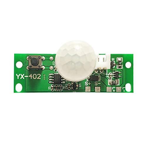 UEB 3,7V Solar Lampe Controller Platine Solar Lampe Board Infrarot Sensor Modul