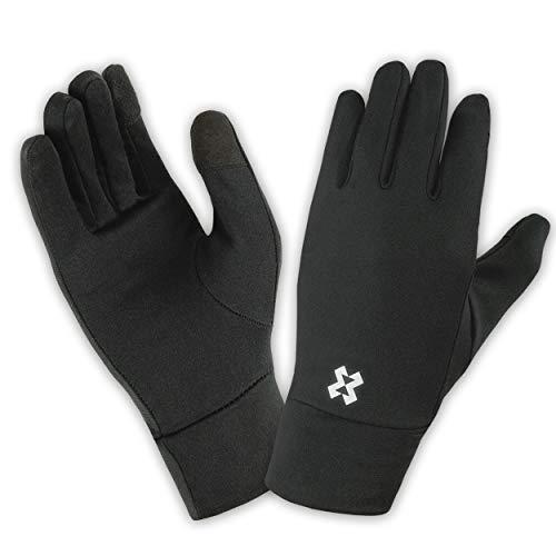 HYXE Handschuhe Herren Damen Liner Glove mit Touchscreen Funktion Winter Laufen Sport Gloves zum Fahrradfahren Motorradfahren Skifahren Snowboarden Wandern rutschfest Sporthandschuhe Gloves