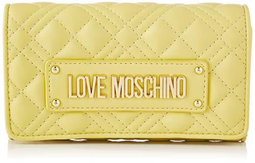 Love Moschino Precollezione SS21 | Portafoglio da Donna, Giallo, Normal