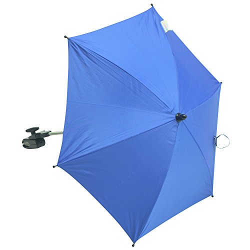 For-Your-Little-Sonnenschirm kompatibel mit Teutonia Regenpelerine Team Cosmo Twin, blau