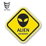 DSNGZ 13cm x 13cm Alien on...