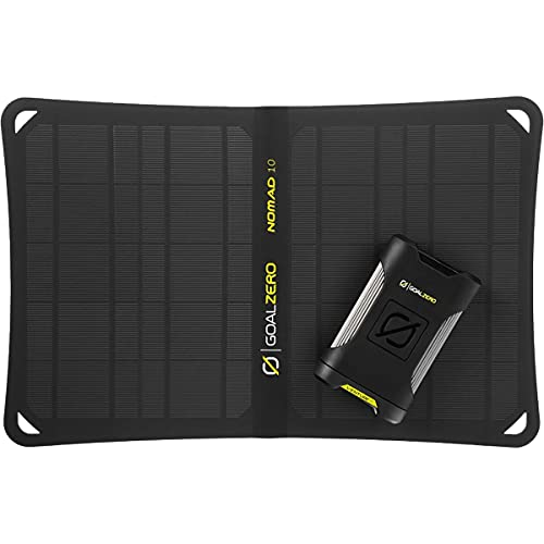 Goal Zero Venture 35 Solar Kit With Nomad 10 One Color, One Size