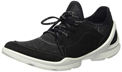 Ecco Damen BIOMSTREETW Sneaker, Schwarz (Black/Black 51052), 37 EU