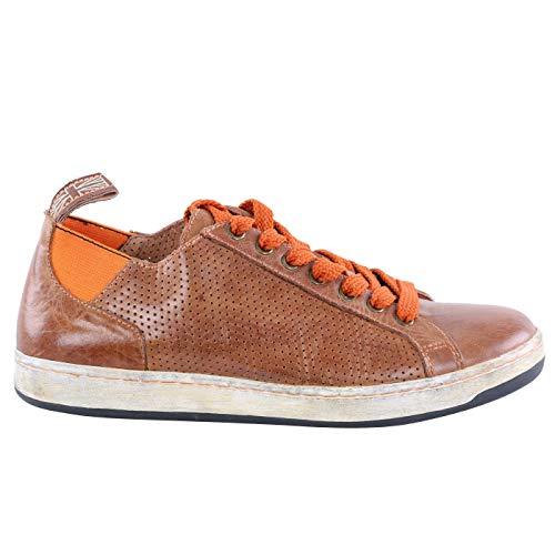 Matchless Damen Leder Sneaker Schuhe Brighton Vent Antique Cuero 142040 Größe 37