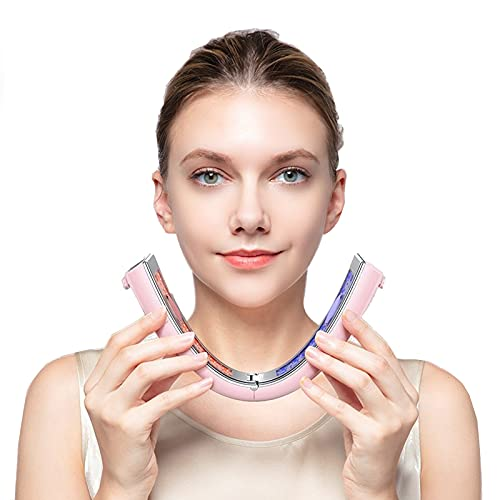 Face Massager Electric Face Lifting Device Electric V Face Machine Slimming Vibration Double Chin Reducer with Remote Control Cool Sculpting Machine for Home