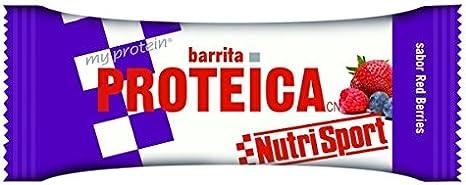 Nutrisport Barrita Proteica 24 x 46g Frutos Rojos