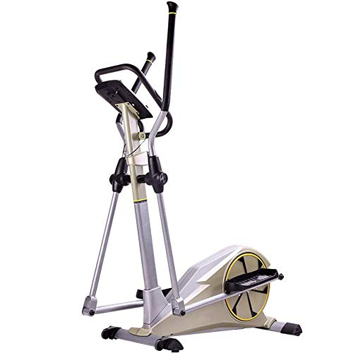 Máquina elíptica para el hogar, máquina de entrenamiento cruzado, andador para el espacio de escalada, pequeño, silencioso, controlado magnéticamente, para el hogar, equipo de deportes de interior pa