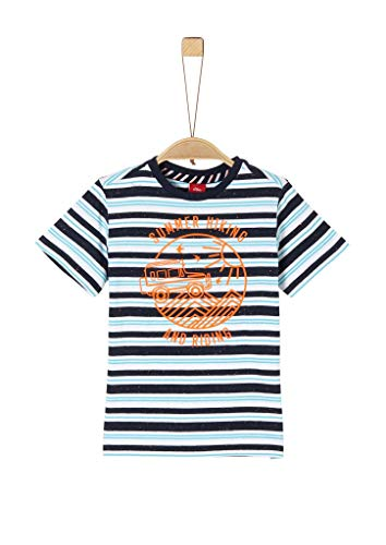 s.Oliver 404.10.004.12.130.2020013 T-Shirt, Jungen, Gelb 128/134 REG