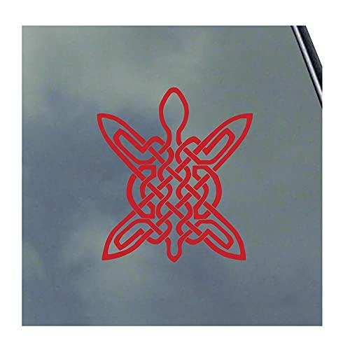 Celtic Turtle Vinyl Sticker Decal Scottish Irish Tribal Clans