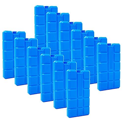 ToCi 6er Set Kühlakku mit je 200 ml | 6 Blaue Kühlelemente für die Kühltasche oder Kühlbox