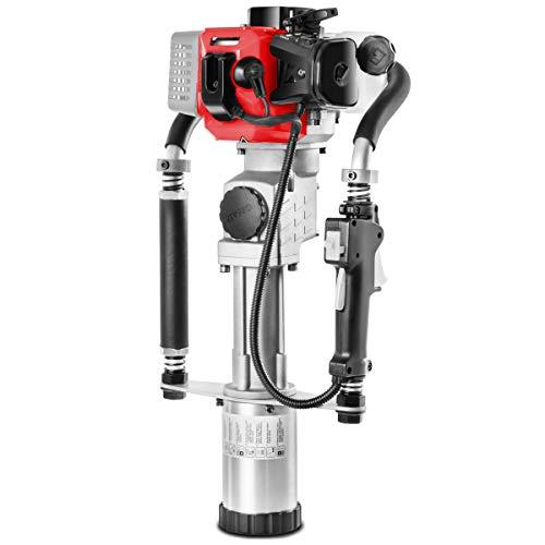 GREENCUT CLA400X - Clavadora de estacas y postes motor de gasolina 40cc y 1,2cv