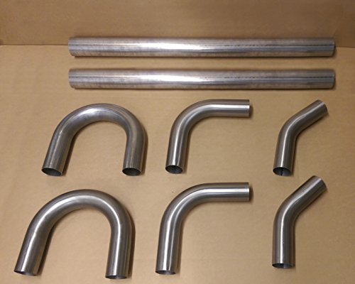 Kit de construction de mandrin en acier inoxydable 304 76,2 mm 45 90 180 degrés