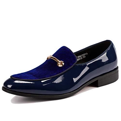 Lixiyu heren lederen formele schoenen vrijetijdsschoenen zakelijke schoenen ronde kop mode jurk schoenen voor bruiloft prom