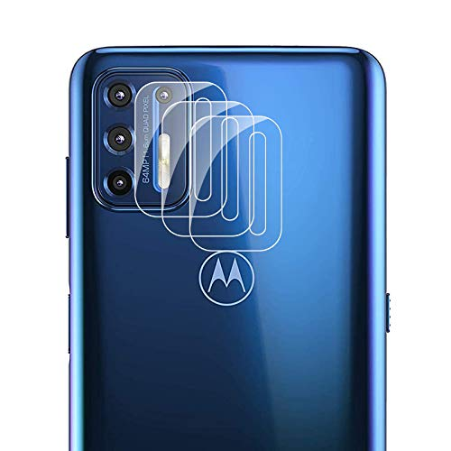 AYSOW Kamera-Objektivschutz für Motorola Moto G9 Plus [3er Pack] HD-Hartglas-Objektivfolie Blasenfrei Einfach zu installierender Kameraschutz der Härte 9H für Motorola Moto G9 Plus