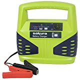 Sakura 8 Amp 12 V Car Battery Charger SS3631 – For Vehicles Up To 2.5L / 2500CC - Lead Acid Batteries Capacity 15 Ah To 120 Ah