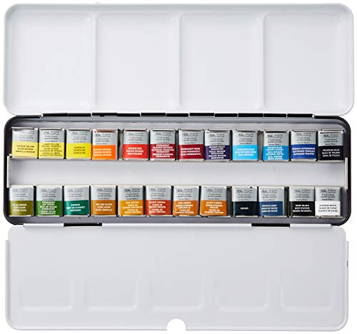 Winsor & Newton Professional Watercolor 24 Pan Set
