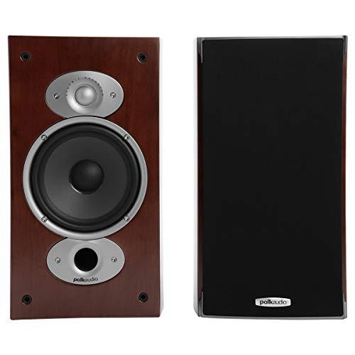 Polk Audio Rti A3 Cherry Rti A3 6.5' Cherry High Performance Bookshelf Loudspeakers Am3372-a