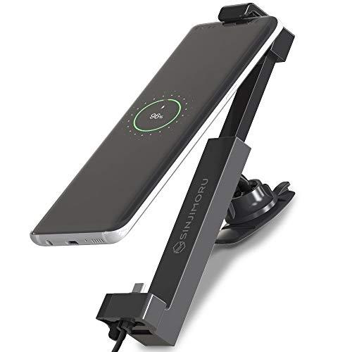 Sinjimoru Handyhalterung Auto mit USB C Kabel, Auto Handyhalterung für alle Smartphones mit USB C Anschluss Handyhalter Auto Sinji Car Kit für USB Typ C, Basis Paket.