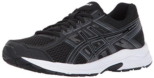 ASICS Women's Gel-Contend 4 Running Shoe, Black/Black/Carbon, 9.5 D US