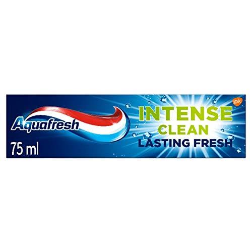 12 Stück Aquafresh Zahnpasta LASTING INTENSE Clean Fresh 75 ml Produkte für Zähne und Gesichtsbehandlung