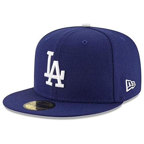 New Era Los Angeles Dodgers MLB Authentic Collection 59Fifty Cap Royal/White Size Fitted 7 1/4