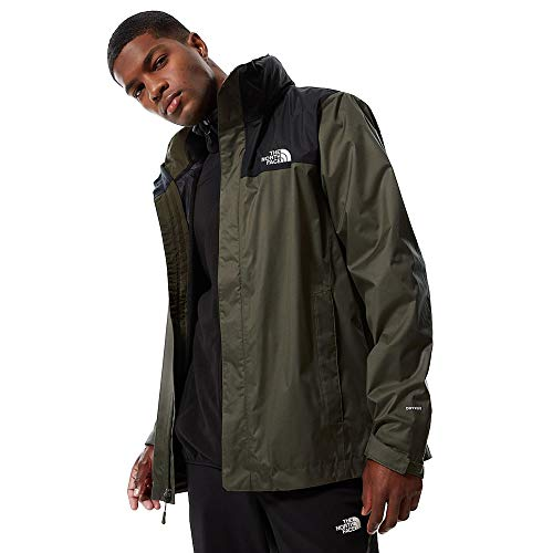 The North Face Evolve II Triclimate, Giacca Impermeabile Uomo (M, New Taupe Green/TNF Black)