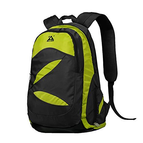 Wanderrucksack, Unisex 45L Polyester wasserdichter Trekkingrucksack mit Klappstuhl, multifunktionaler lässiger Outdoor-Rucksack für 16-Zoll-Laptops, die auf Reisen sind und Camping-Tagesrucksack tra