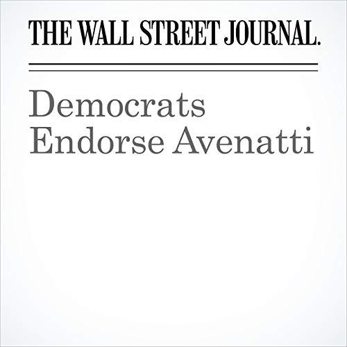 Democrats Endorse Avenatti copertina