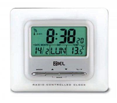 Weather Station Ziel Polaris 40 Wit - Thermometer Radiografisch bestuurbaar Digitaal Klok