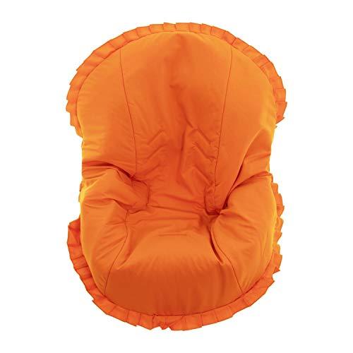 Colchoneta para silla de paseo grupo 0 Abatible Rosy Fuentes- Ideal para Capazos de Grupo 0 Abatibles - Funda Silla Paseo - Resistente y Duradero - Elaborado en Popelin - Color naranja