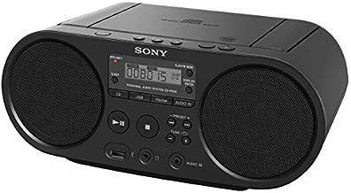 Portable Sony CD Player Boombox Digital Tuner AM/FM Radio Mega Bass Reflex Stereo Sound System (Renewed)