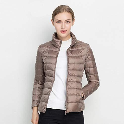 YRFHQB Ultra Light 90% donsjack dames winterjas dunne dames winter dunne warme jas winddicht donsjas