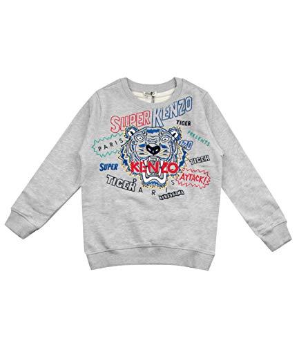 Kenzo Kids Felpa Super Kenzo Tigre Bambino Kids Boy Mod. KP15658 10A