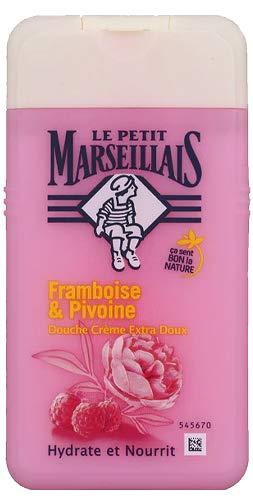 LE PETIT MARSEILLAIS Duschgel douche creme extra doux framboise & pivoine * Himbeere - Pfingstrose