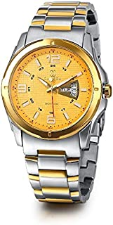 Olivera OGS704-WHITE / GOLD Watch For Men
