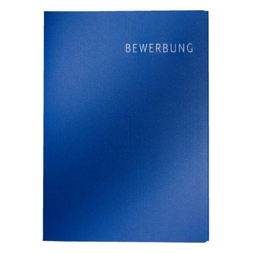 Leitz Bewerbungsmappe (Exklusiv Karton, 3-teilig) dunkelblau