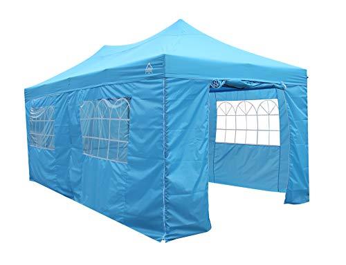 All Seasons Gazebos Heavy Duty, 100% waterproof, 3x6m Pop up Gazebo with 4 x fully waterproof superior Side Walls. 17 Colours ava