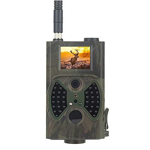 Turefans HC-300M, Full HD Profi, Wildkamera, Nachtsicht Bewegungsmelder, Jagdkamera, 12MP, 1080P, Wasserdicht Wildtierkamera für Überwachung