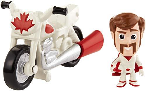 Mattel GCY50 - Disney Pixar Toy Story 4 Minis Duke Caboom und Stunt Motorrad, Minifigur mit Fahrzeug, Spielzeug ab 3 Jahre