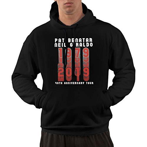 Beiläufiges langärmliges mit Kapuze Sweatshirt Pat Benatar Men's Hoodies Sweater Fashion Long Sleeve Top Pocket Hooded Sweatshirts