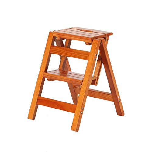 GSS-Chair Trapladder, inklapbare kruk, voor binnen en buiten, opvouwbaar ontwerp, comfortabele opslag