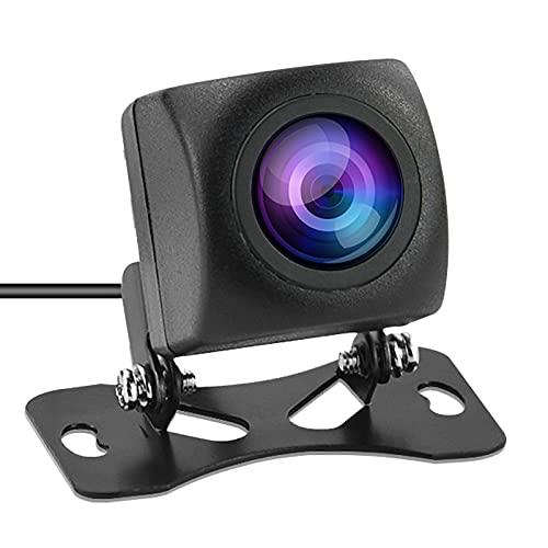 Cámara de Marcha atrás del Coche: Ayuda para Marcha atrás y Aparcamiento AHD Impermeable IP69, cámara de visión Nocturna Trasera Reversa, 12V Universal Compatible con el Sistema de TV NTSC/PAL