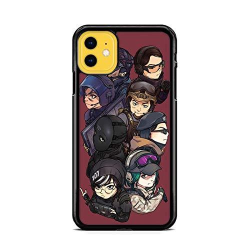 NETOBEEK [Rainbow Six Siege] Phone Case for iPhone 5/5S, Rainbow-Six-Siege-Logo,[NET9296-N2-1220],Handyhülle,Hülle,Coque,Custodia,Carcasa,Cover,Shell,Case